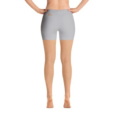 Gray New Flame KW Shorts