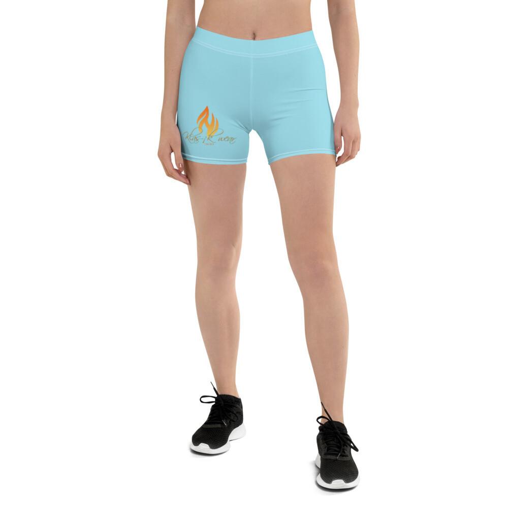 Light Blue KW Shorts
