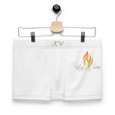 White KW Boxer Briefs