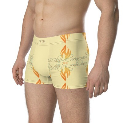 Yellow New Flame KW Boxer Briefs