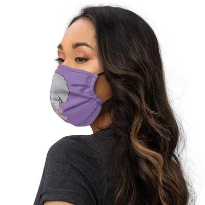 Purple Queen Premium face mask
