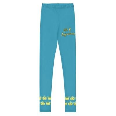 Blue WRL Girl's Leggings