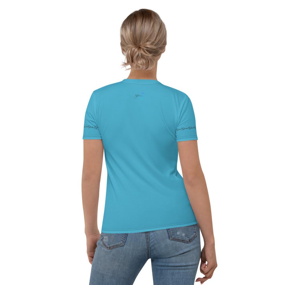 Women's Blue Motivation Kj&m T-shirt