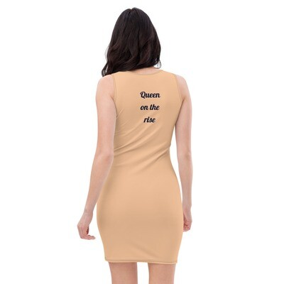 Nude Queen Fitted Cut & Sew Dress