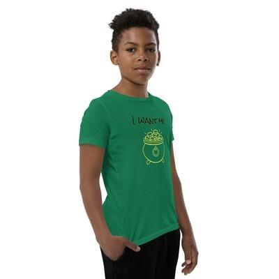 Youth St.patricks Day Short Sleeve T-Shirt