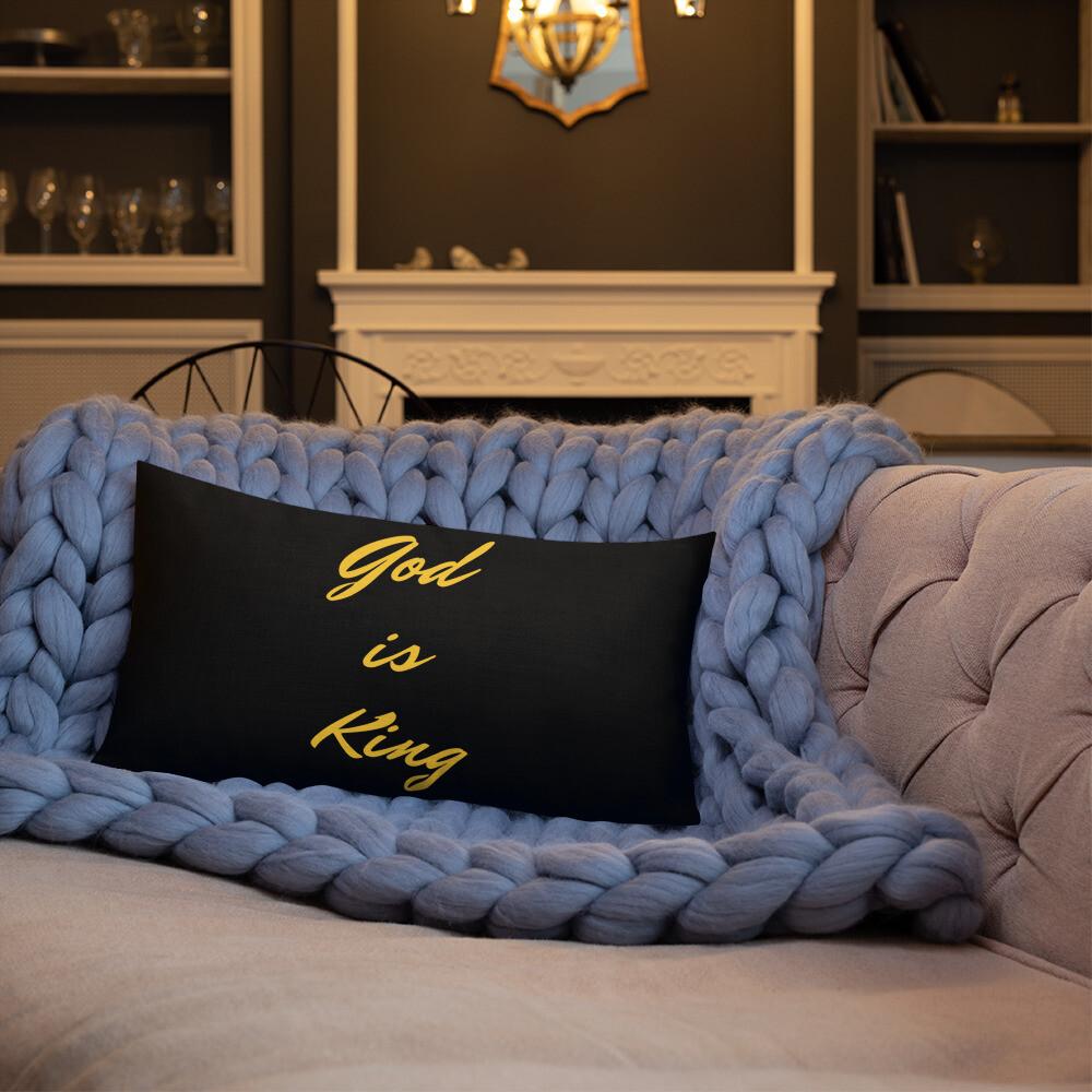 God Premium Pillow