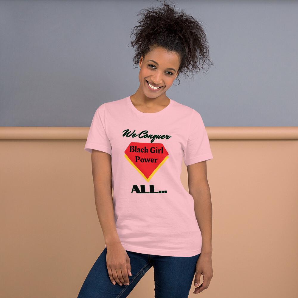 Black Girl's Slogan T-Shirt