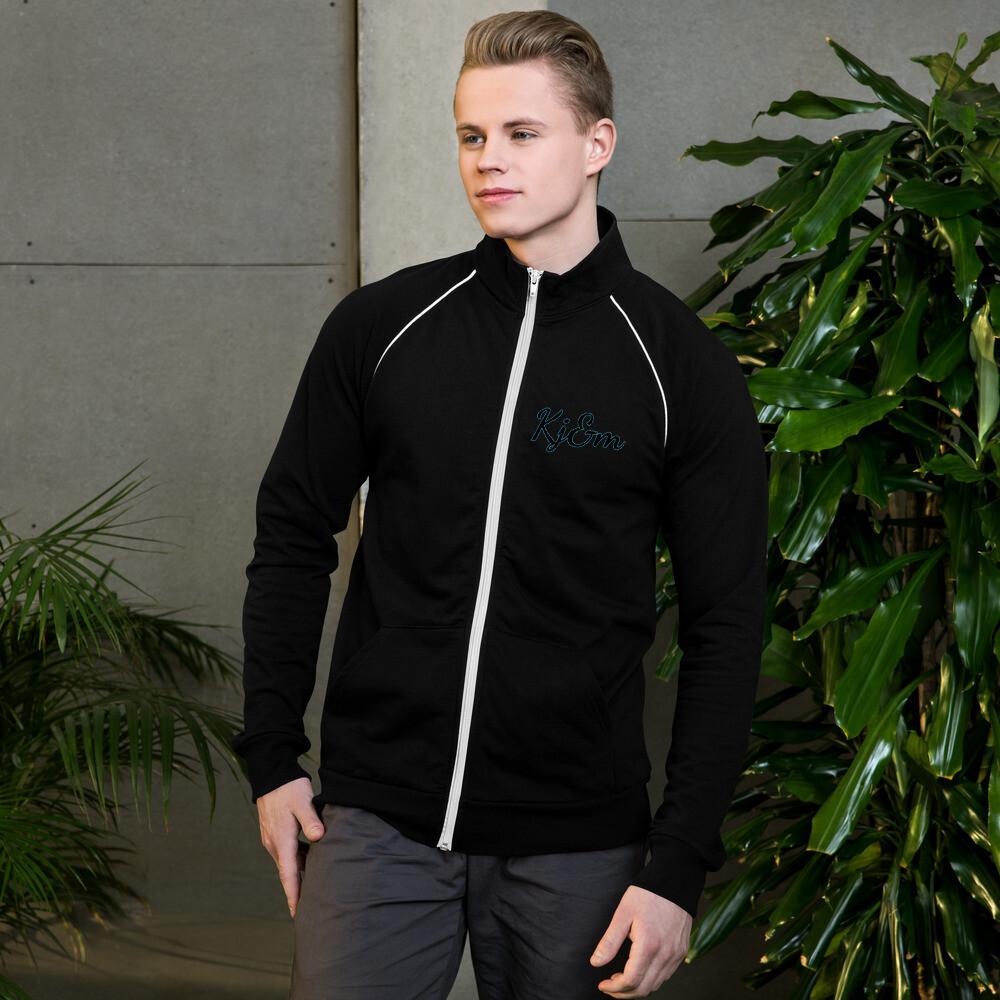 Kj&m Piped Fleece Jacket