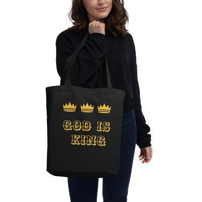 All Around Black Spiritual Tote Bag