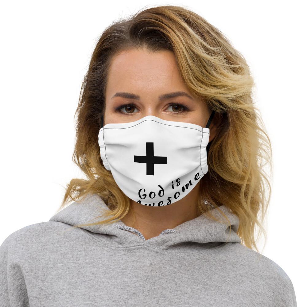Spiritual Cross face mask