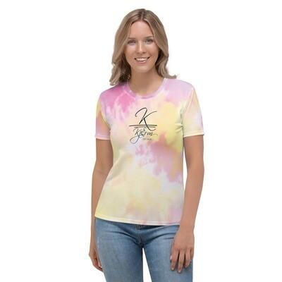 Kj&m Special Edition Tye Dye Women's T-shirt