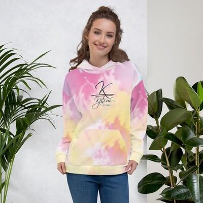 Women's Kj&m Special Edition Tye Dye Hoodie