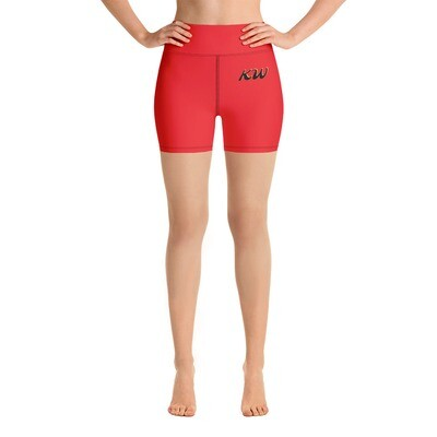 Red KW Sport Shorts