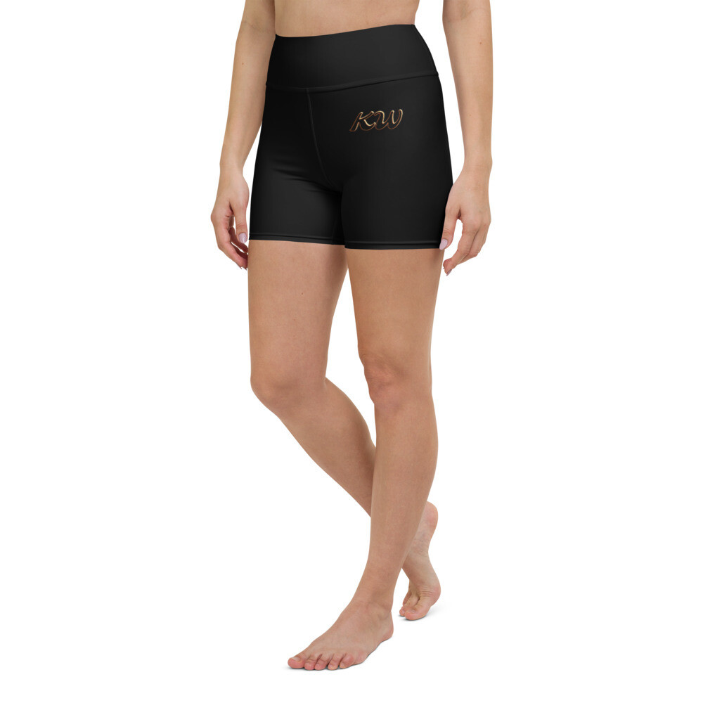 Black KW Sport Shorts