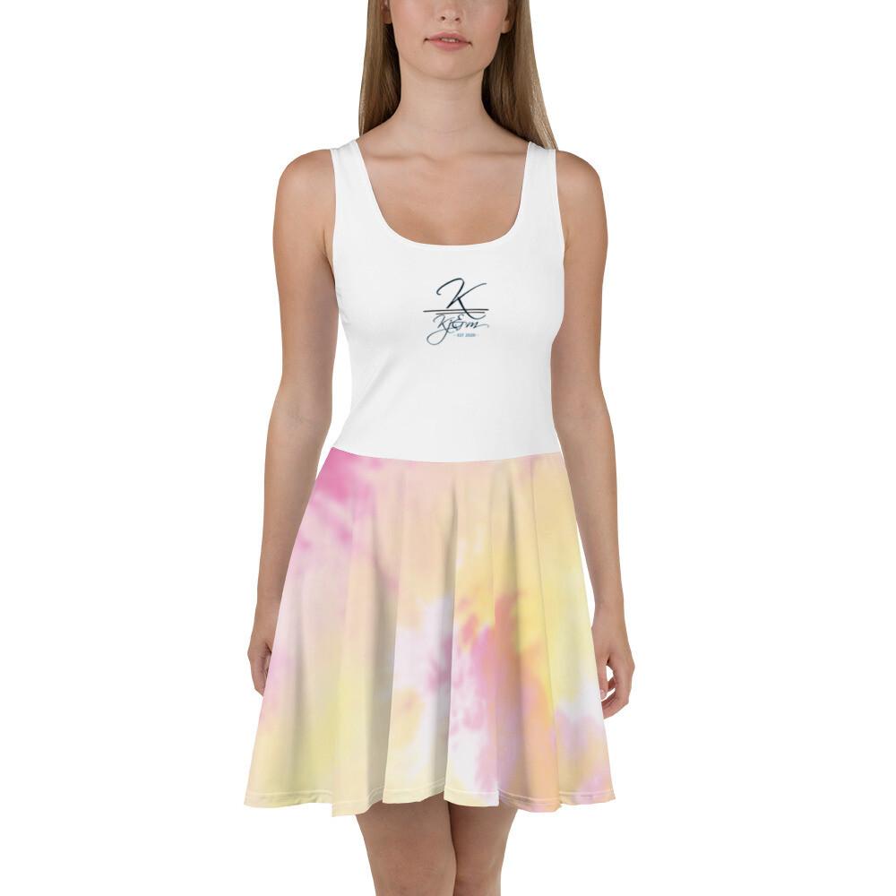 Kj&m Tye Dye Skater Dress