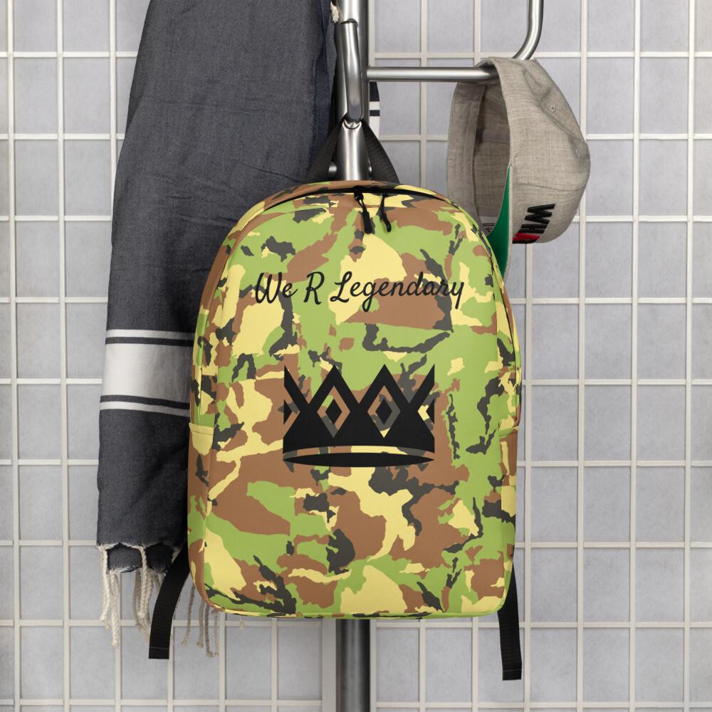 Legendary Camo Backpack