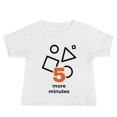 Baby Slogan Short Sleeve Tee