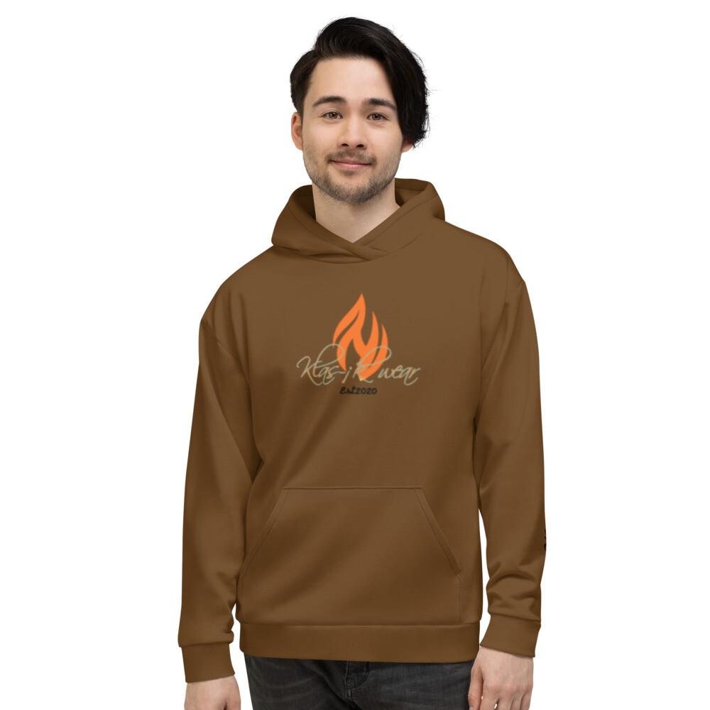 Brown New Flame KW Hoodie