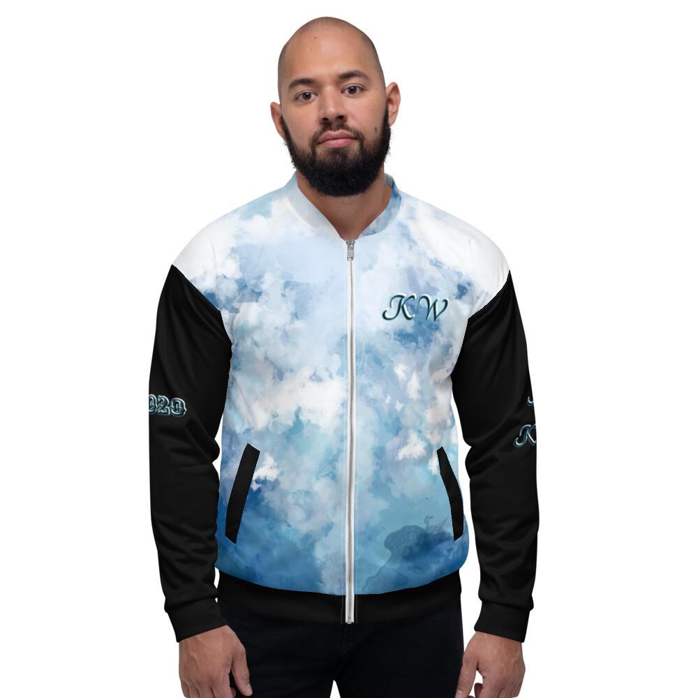 KW Black Sleeve Bomber Jacket
