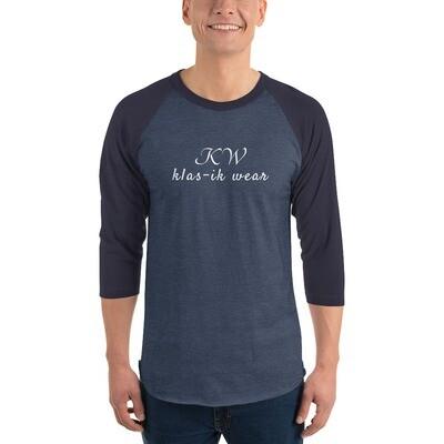 3/4 sleeve KW raglan shirt