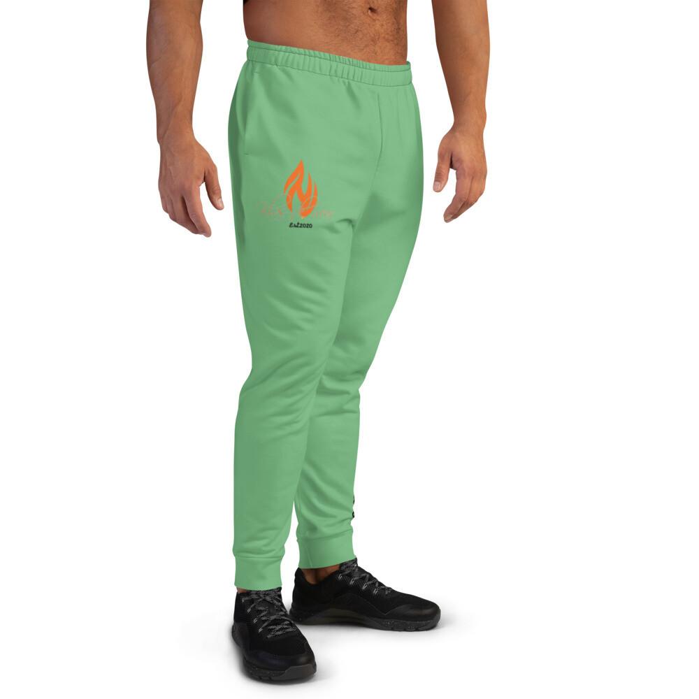 Men's Green KW Joggers