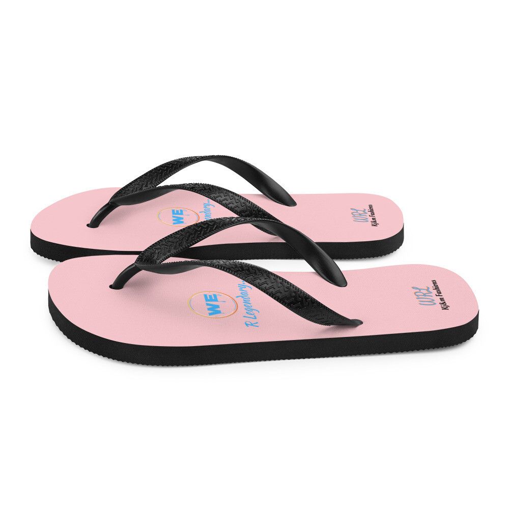 Pink Legendary Flip-Flops