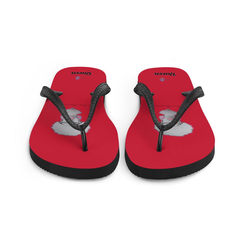 Red Queen Flip-Flops