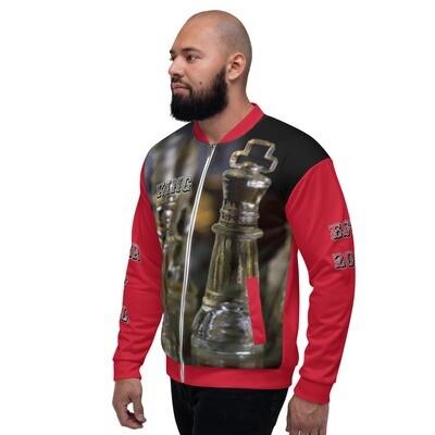 Men's Red King Bomber Jacket