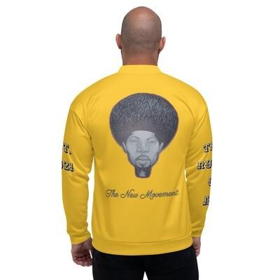Men's Yellow King Bomber Jacket