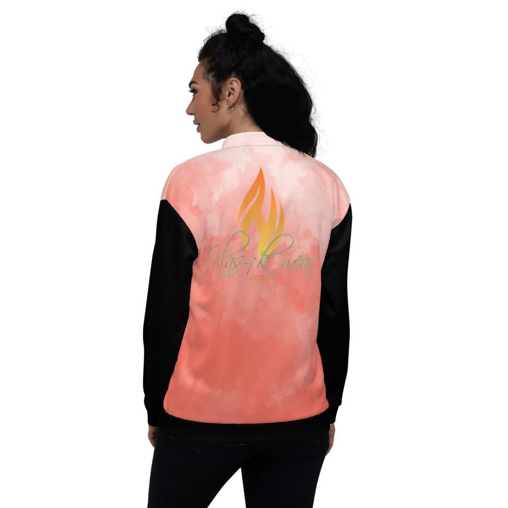 Women's Water Orange Mark Klas-ik Wear Bomber Jacket