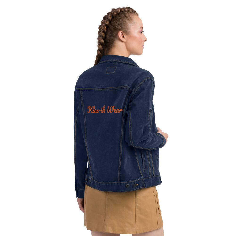 Women's Klas-ik Wear Spandex denim jacket