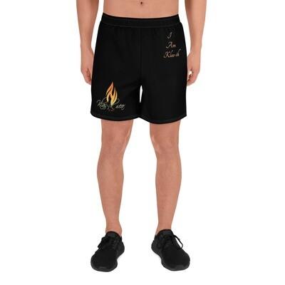 Men's Black Klas-ik Wear Athletic Long Shorts