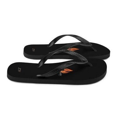 Black Klas-ik Wear Flip-Flops
