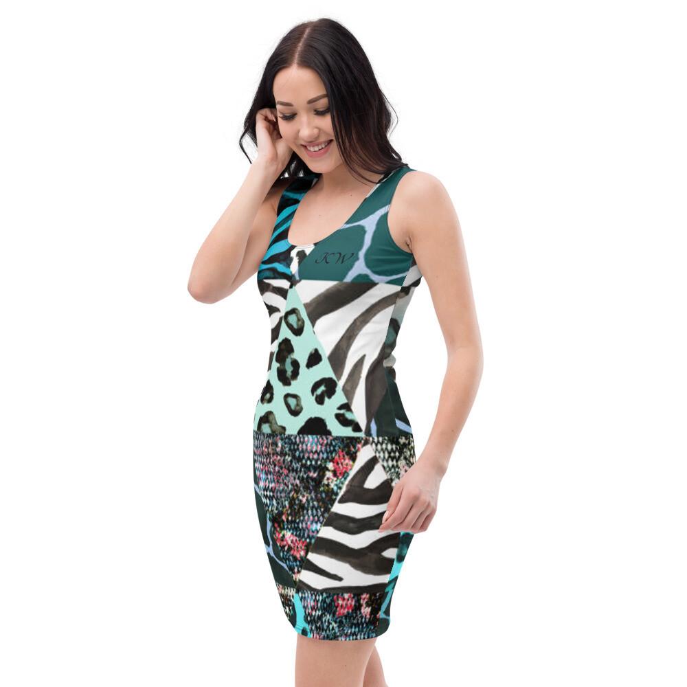 KW Freestyle Print Dress