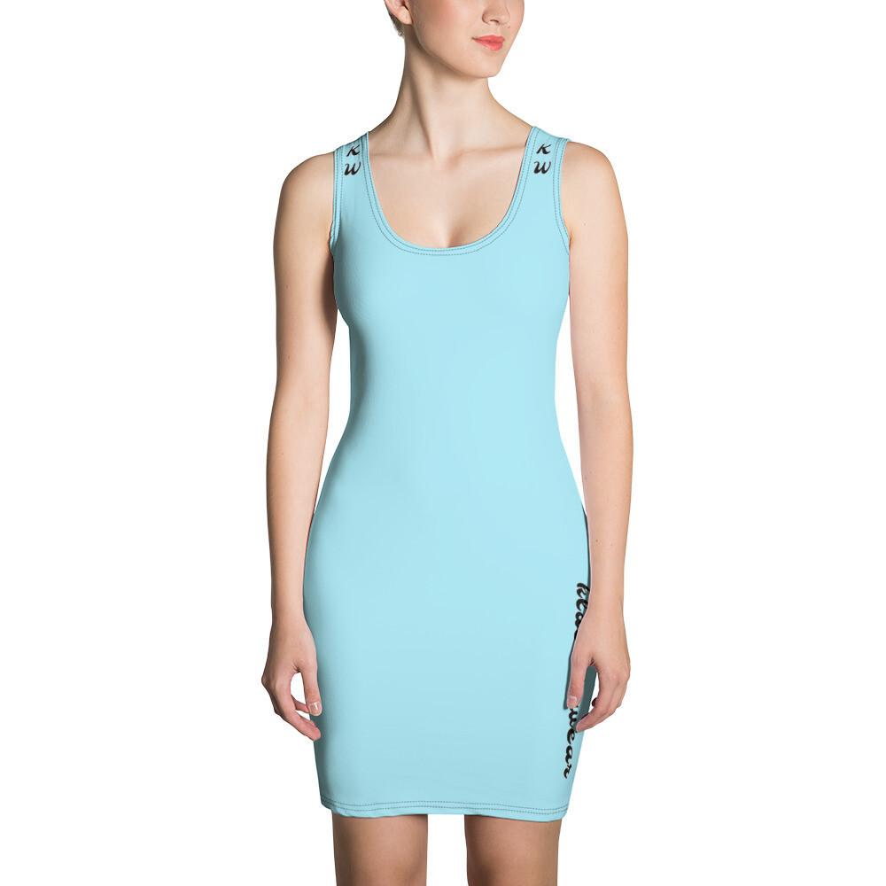 Baby Blue KW Cut & Sew Dress