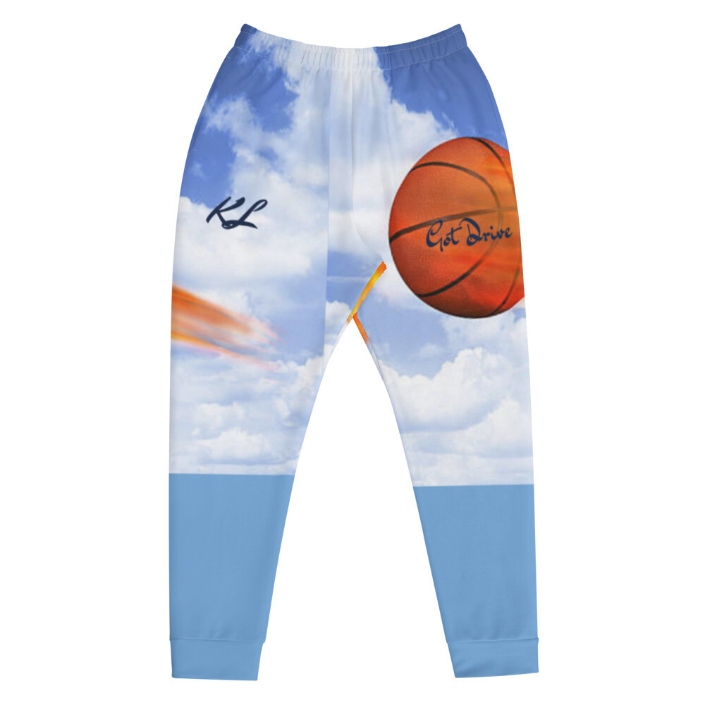 Young Men's K Le'Roy Basketball Theme Joggers