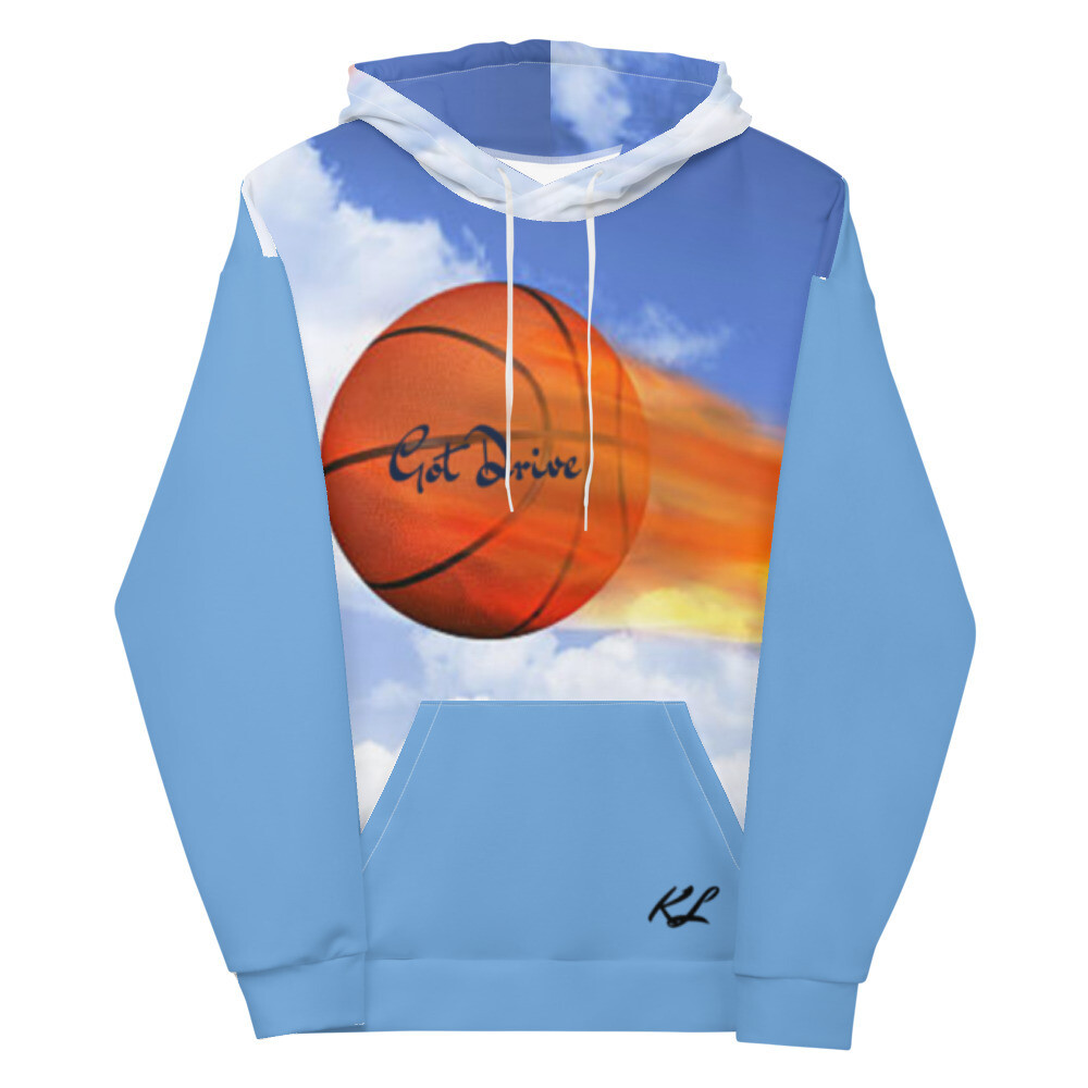 Baby Blue K Le'Roy Basketball Hoodie