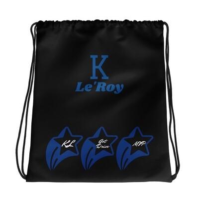 Black K Le'Roy Drawstring bag
