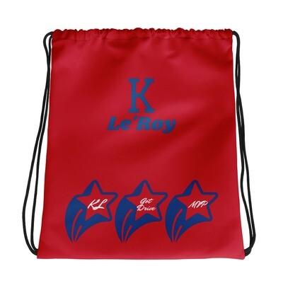 Red K Le'Roy Drawstring bag