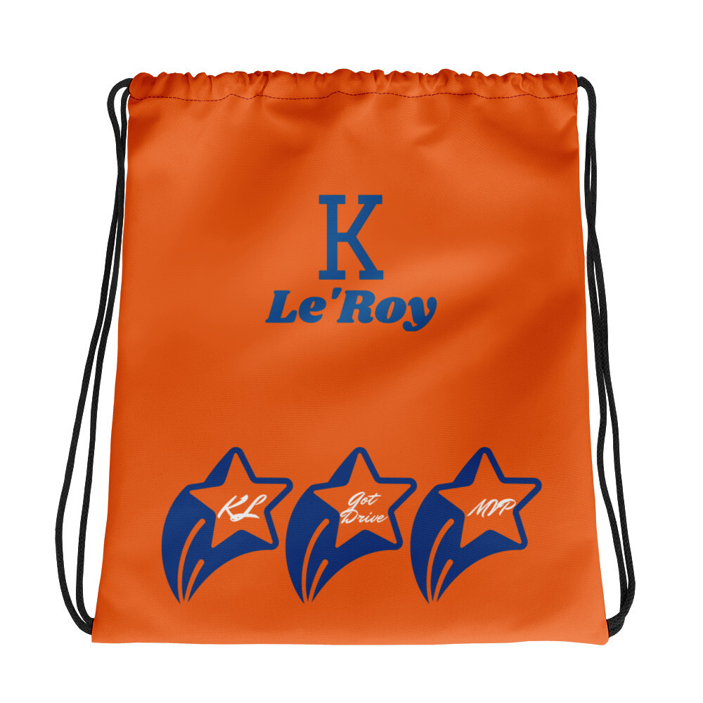 Orange K Le'Roy Drawstring bag
