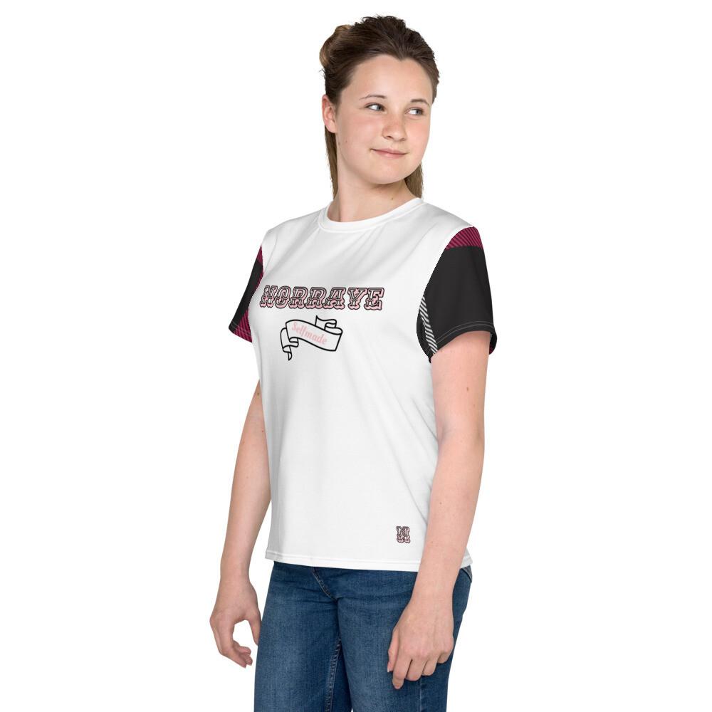 White Flannel Sleeve Norraye t-shirt