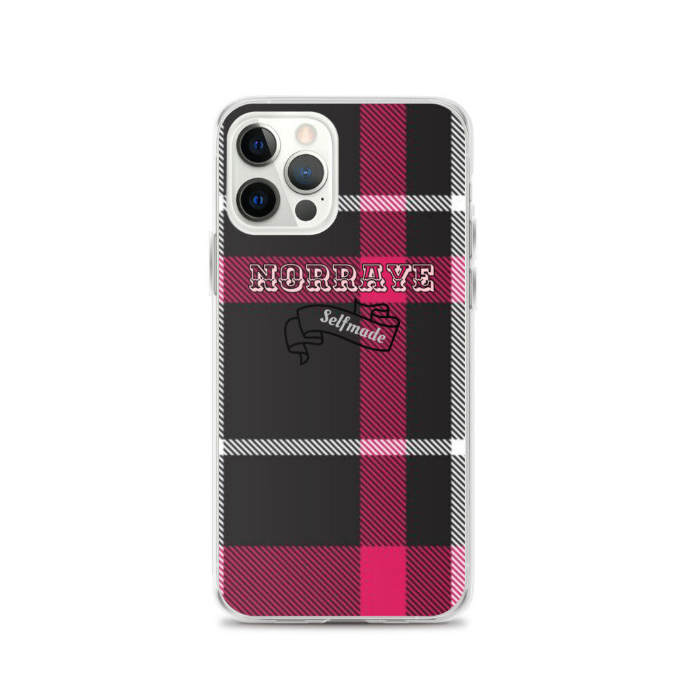 Norraye Flannel Printed iPhone Case