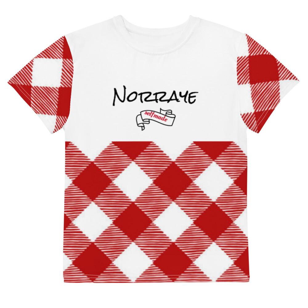 Norraye White Plaid t-shirt