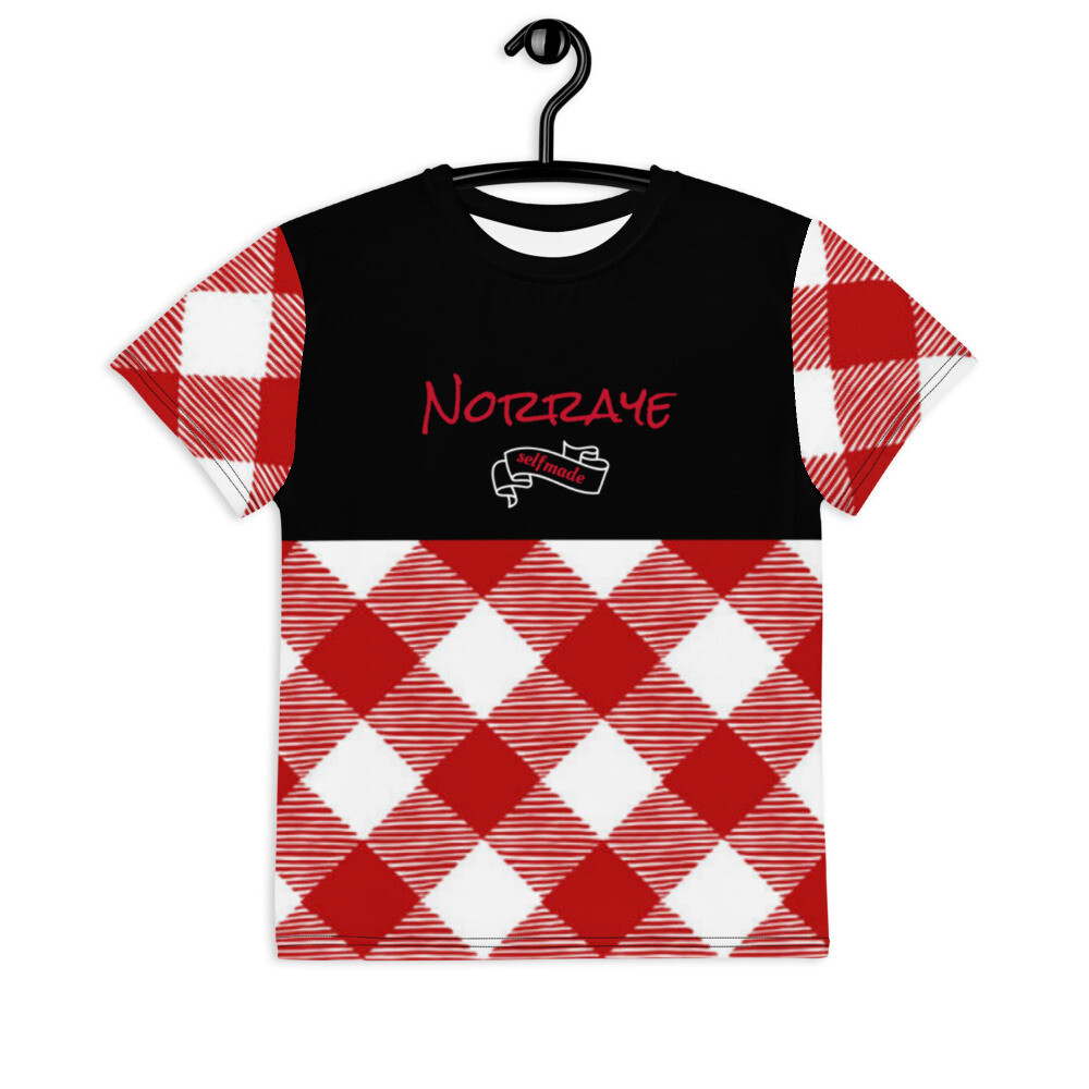 Black Top Norraye Plaid t-shirt