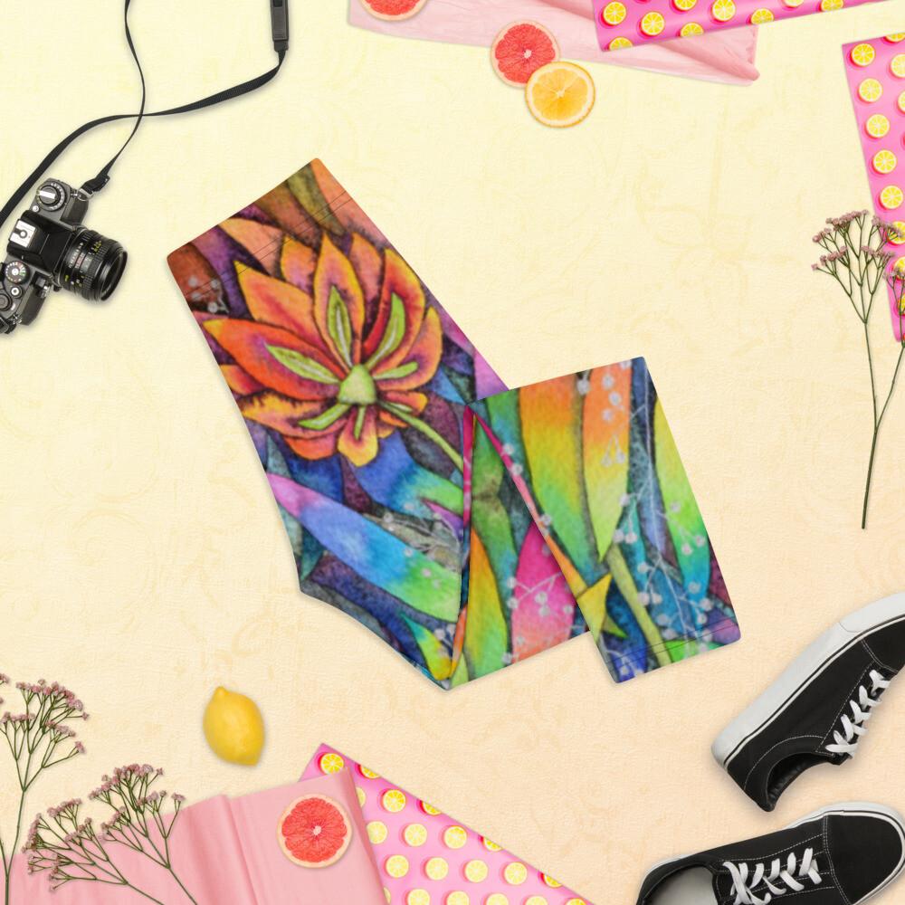 Fun Stylish Kj&m Capri Leggings