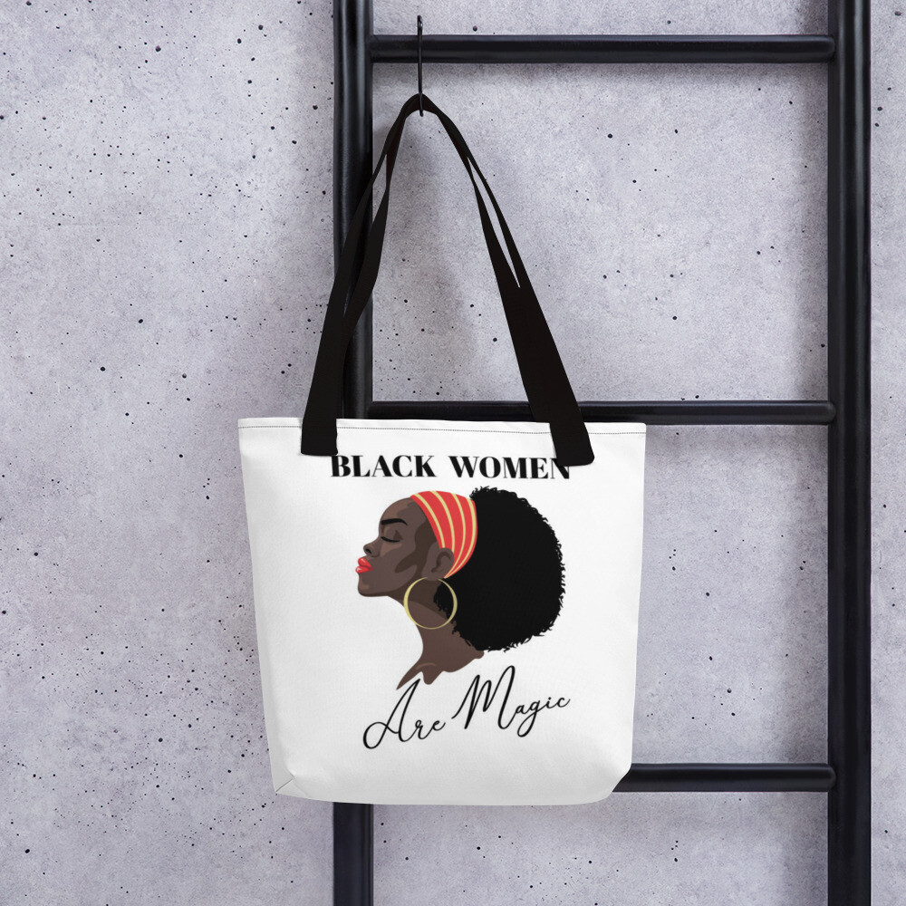 Kj&m Black Queen Tote bag