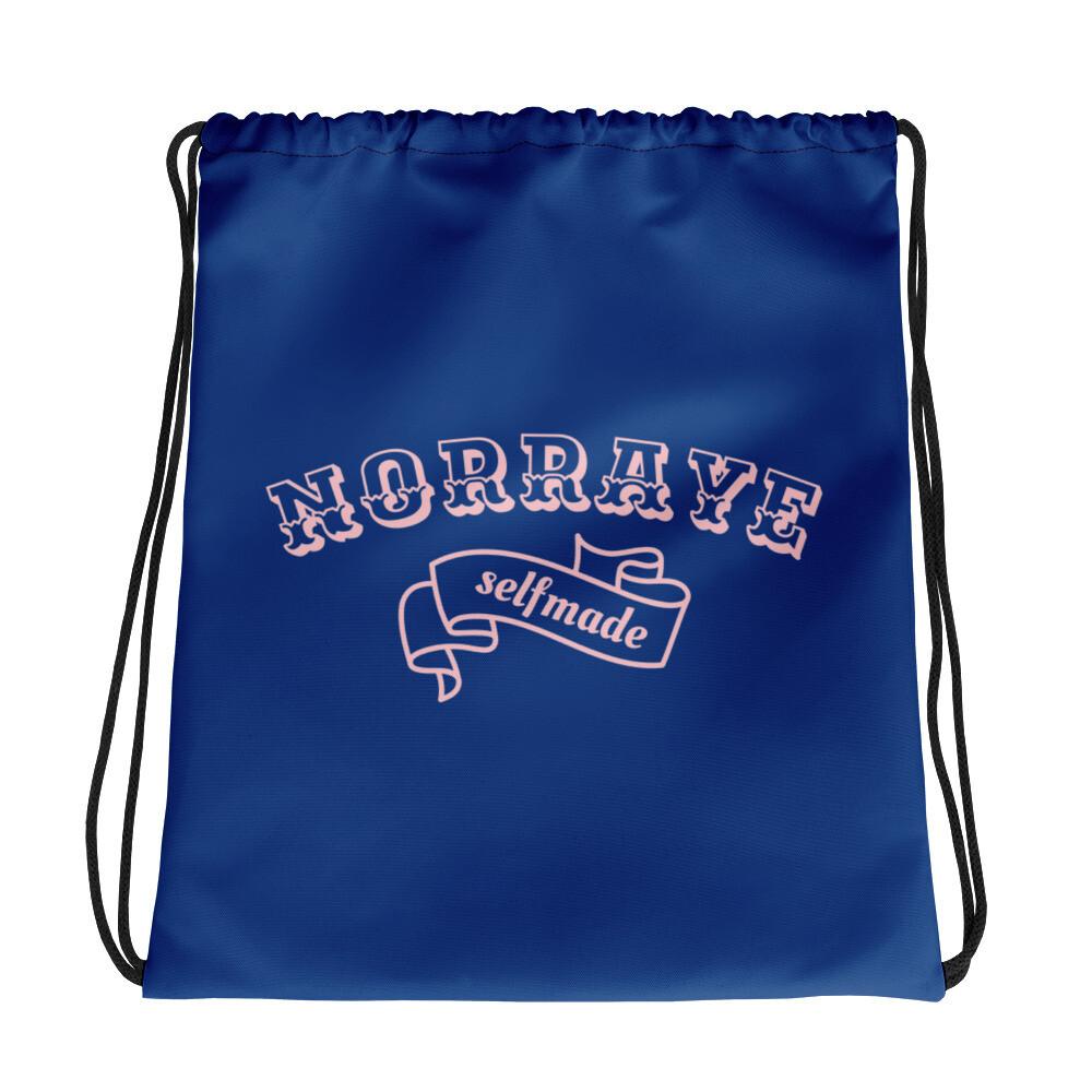 Norraye Royal Blue Drawstring bag