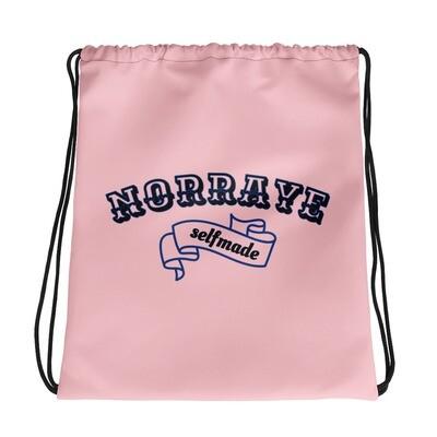 Norraye Pink Drawstring bag