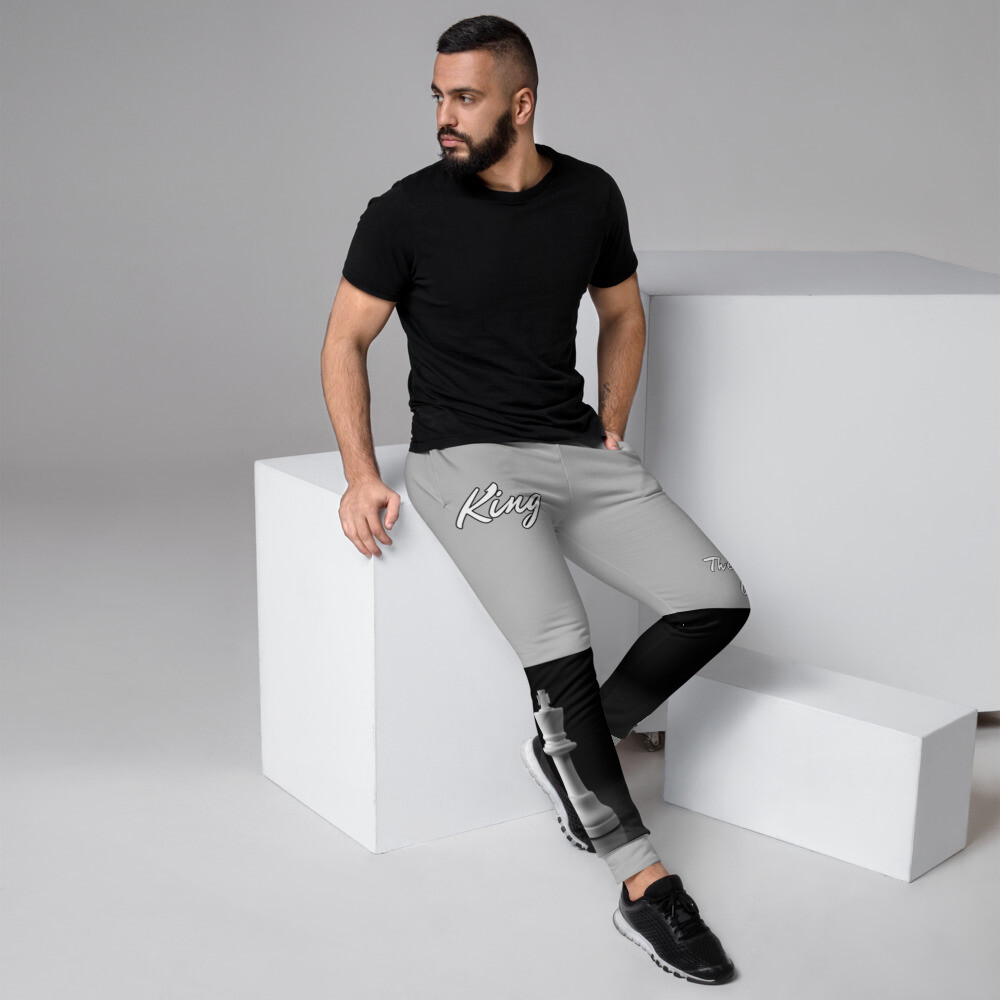 Men's Gray King Piece Joggers