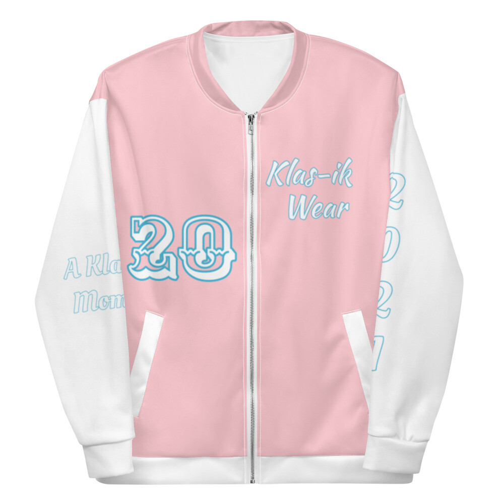 Pink KW Bomber Jacket